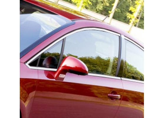 Side windows chrome trim Citroën C4 Coupé
