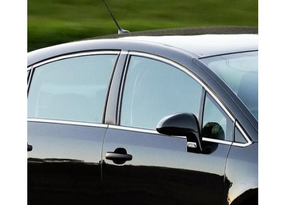 Side windows chrome trim Citroën C4 Berline