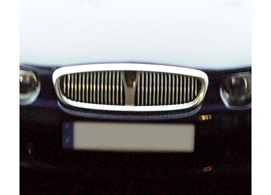 Radiator grill chrome moulding trim Rover 25  Rover 200