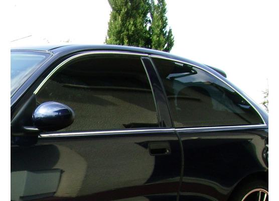 Fascia cromata di contorno dei vetri laterali MG ZR Rover 25 Rover 200 Rover 220