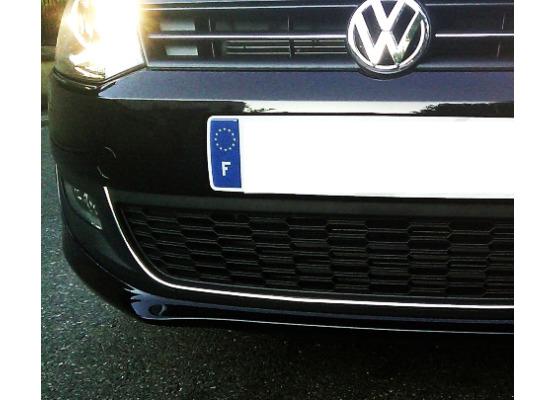 Cornice cromata di contorno della griglia radiatore VW Golf 6 VW Golf 6 Cabriolet VW Polo 6