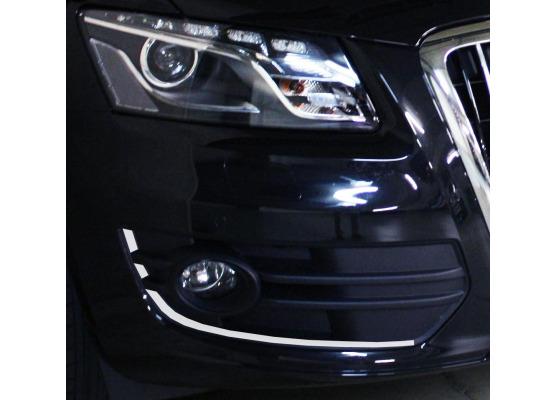 ZierChromleiste für die NebelscheinwerferKonturen Audi Q5