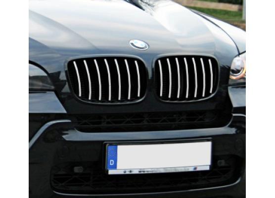 Cornice cromata griglia radiatore BMW X5