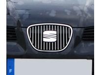 Inner radiator grill chrome trim Seat Ibiza 0108