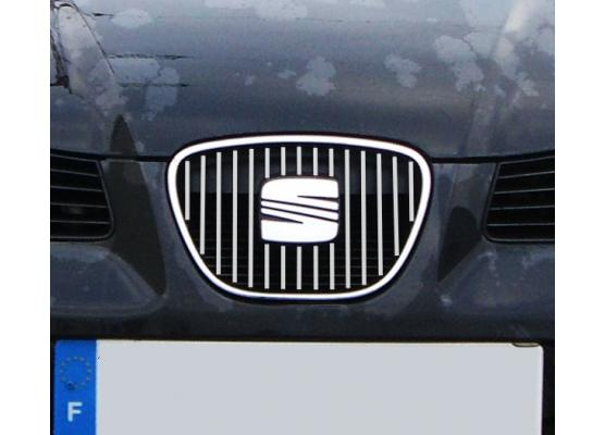 Inner radiator grill chrome trim Seat Ibiza 0108