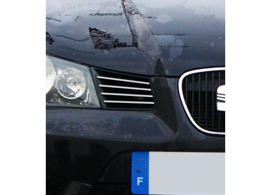 External radiator grill chrome trim Seat Ibiza 0108