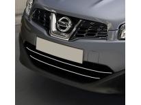 Radiator grill chrome moulding trim Nissan Qashqai 2 08102 phase 2 10142 phase 30710