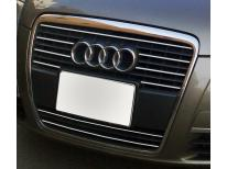 Radiator grill chrome moulding trim