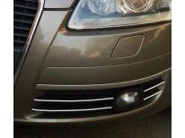 Fog lights chrome trim