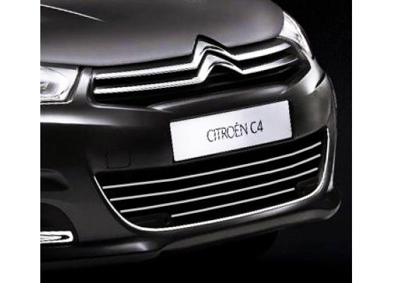 Radiator grill chrome moulding trim Citroën C4 1120