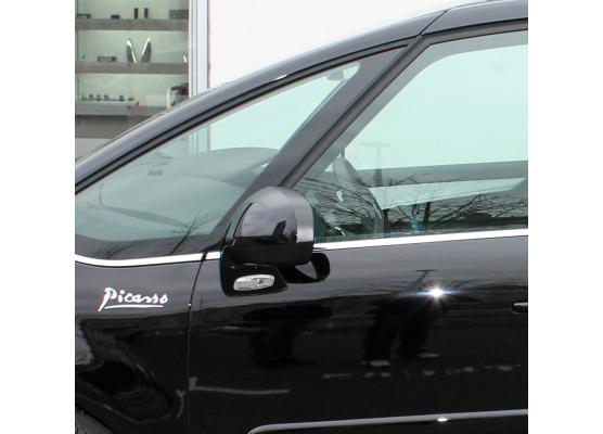 Fascia cromata di contorno inferiore dei vetri laterali Citroën C4 Picasso 0712