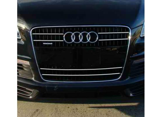 Radiator grill chrome moulding trim Audi Q7