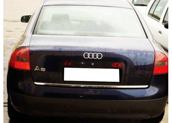 Trunk chrome trim Audi A6 Série 2 9701Série 2 Avant 9705Série 2 Phase 2 0104