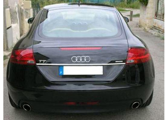 Trunk chrome trim Audi TT Série 2 0614 Audi TT RS Audi TTS