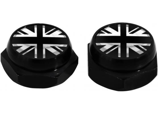 Cappucci per rivetti per targa di immatricolazione Inghilterra Regno Unito Inglese Gran Bretagna ne
