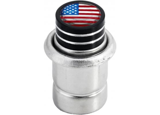Cigarette lighter USA United States of America short black