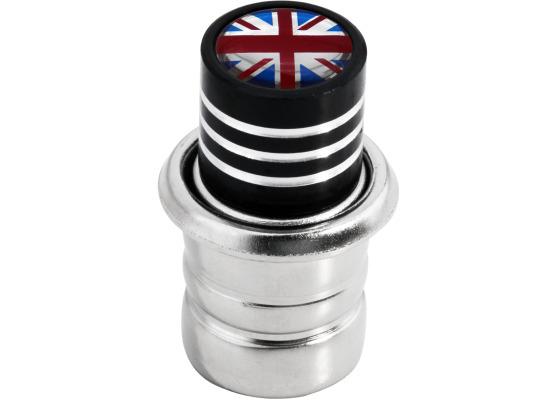 Encendedor Inglaterra Reino Unido Ingles Gran Bretana Jack negro
