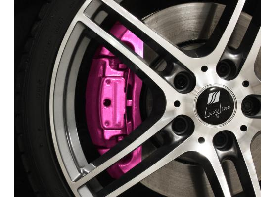 Painting kit for brake calipers metallic pink